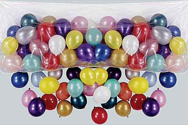 balloon drop net