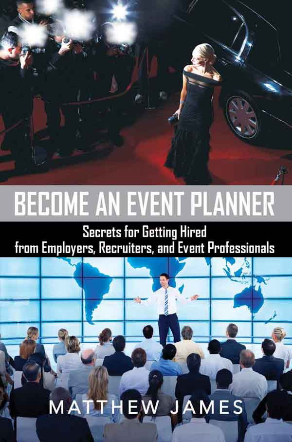Matthew James Become an Event Planner book
