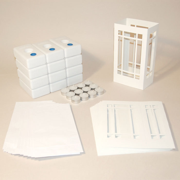 paper luminary kit