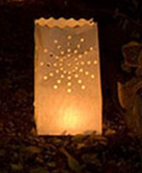 party decoration ideas luminaries