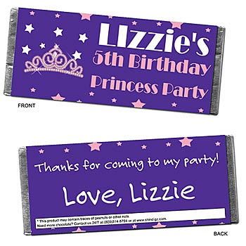 personalized candy bars