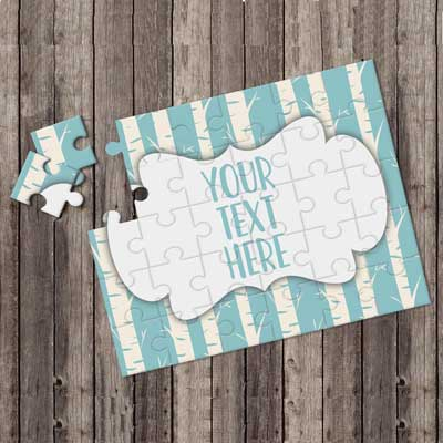 jigsaw invitations
