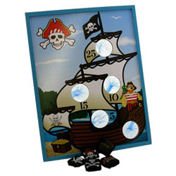 pirate bean bag toss game