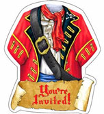 cheap pirate invitations