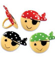 pirate cupcake decorations