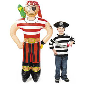 inflatable pirate