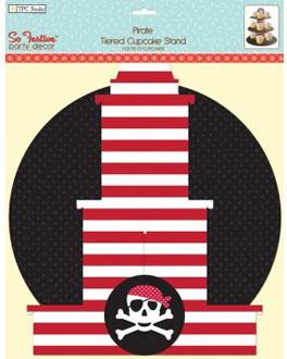 pirate cupcake stand
