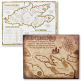 pirate placemats