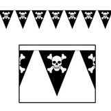 pirate pennant banner