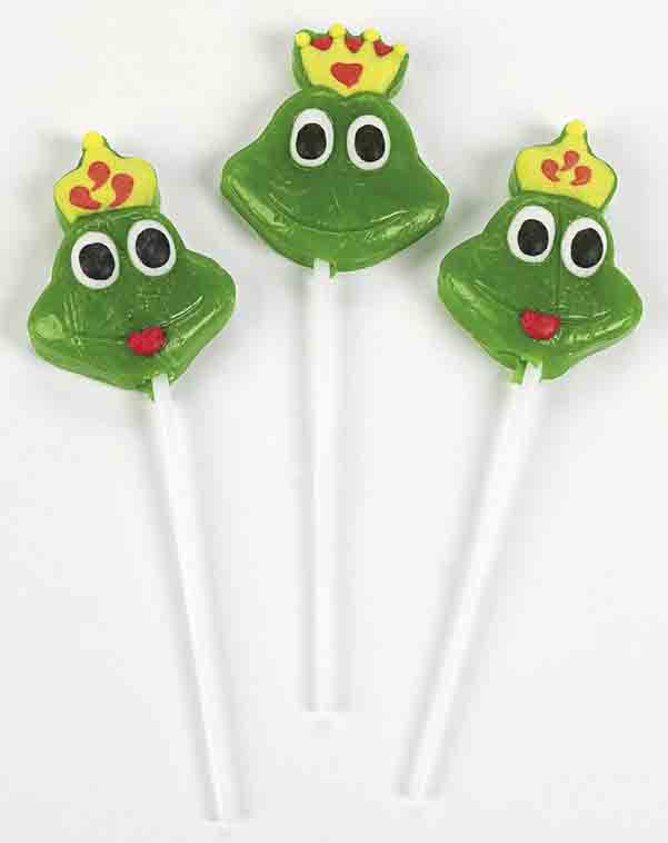 frog lollipops