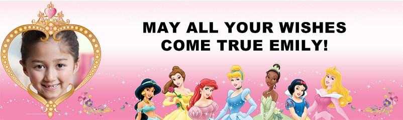 princess party banner