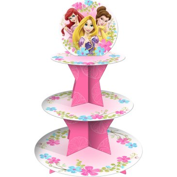 princess cupcake stands