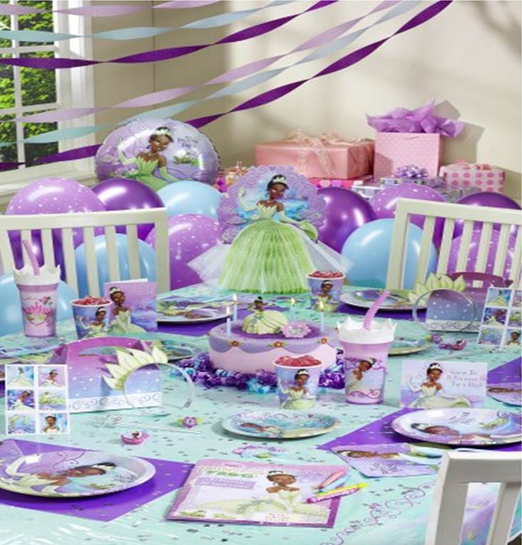 princess party ideas decorations
