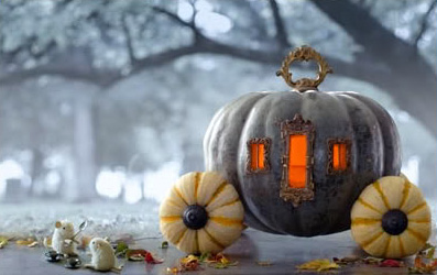 princess party ideas pumpkin carriage