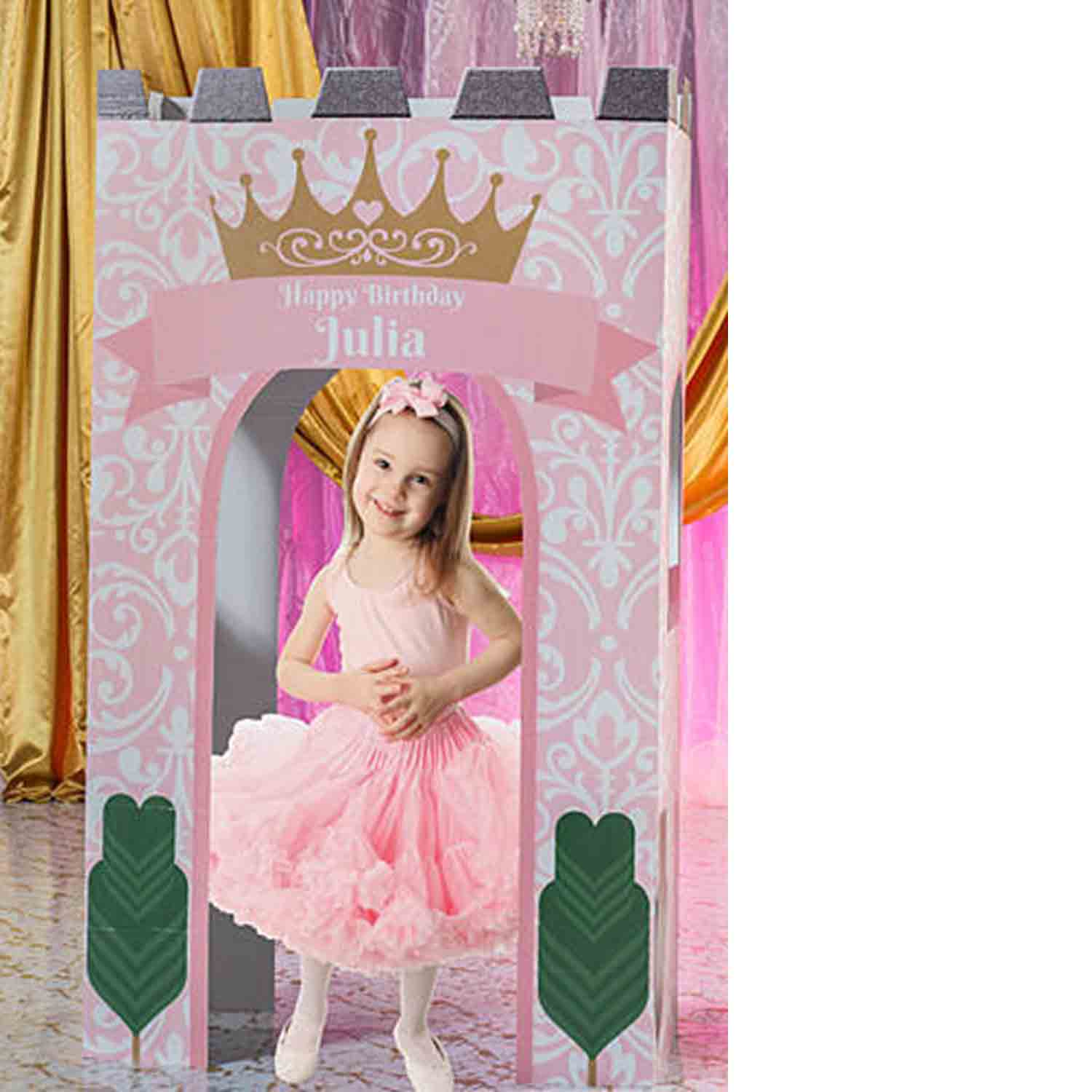 princess castle gateway prop