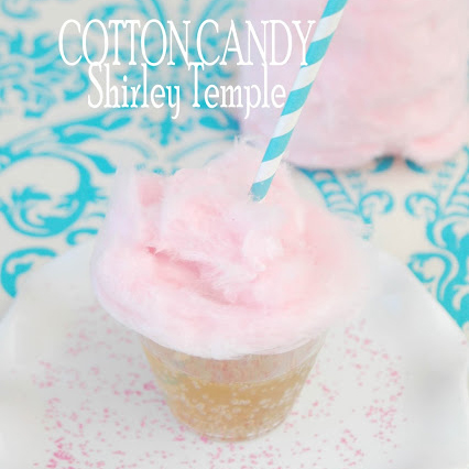 cotton candy shirley temple