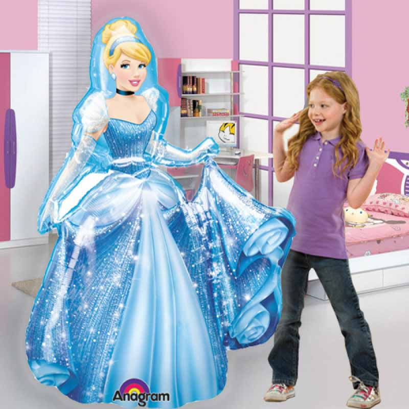 princess airwalker balloon cinderella