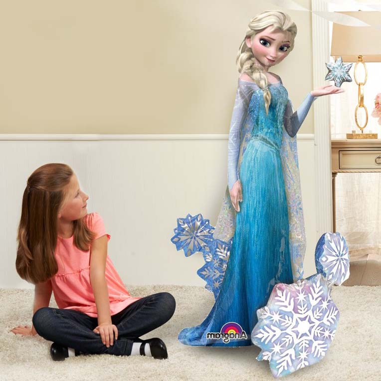 princess airwalker balloon elsa frozen