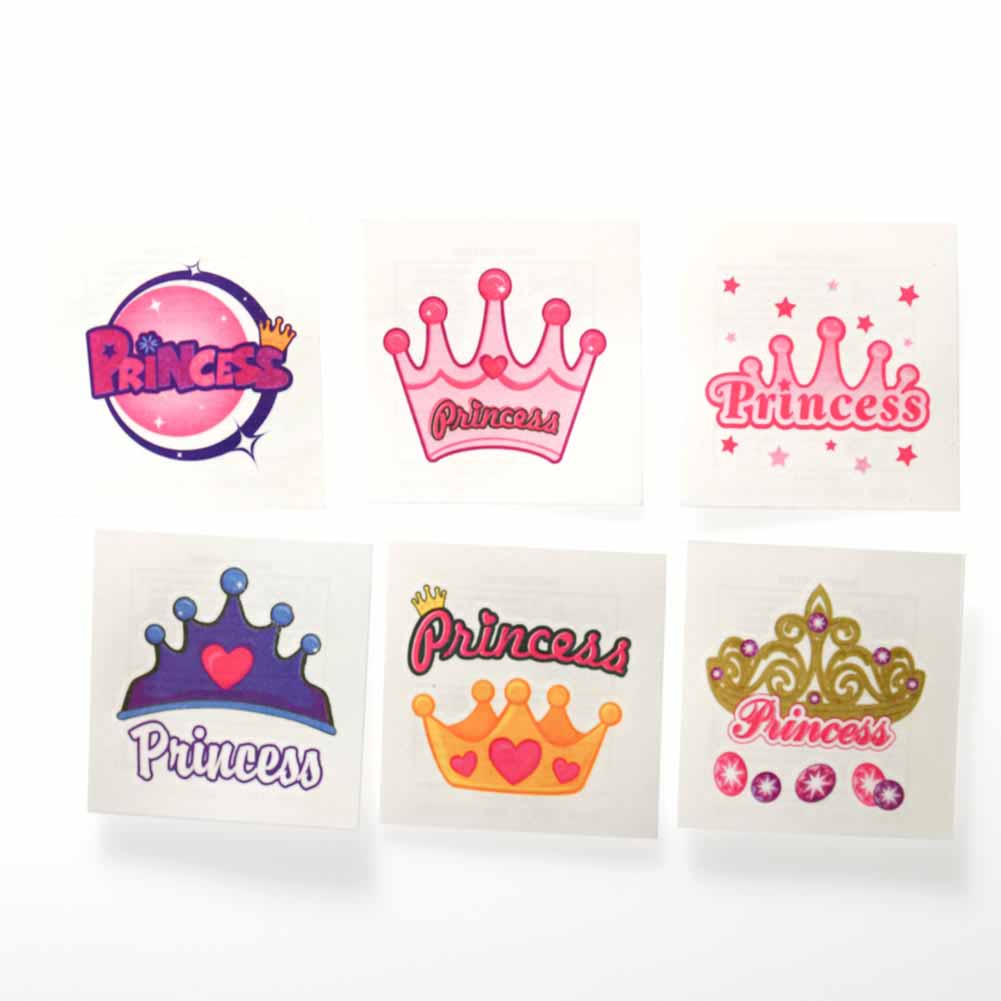 temporary princess tattoos