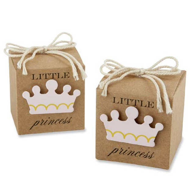 princess party favor boxes