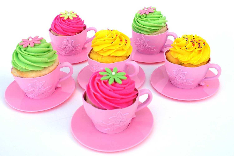 tea cup cake molds
