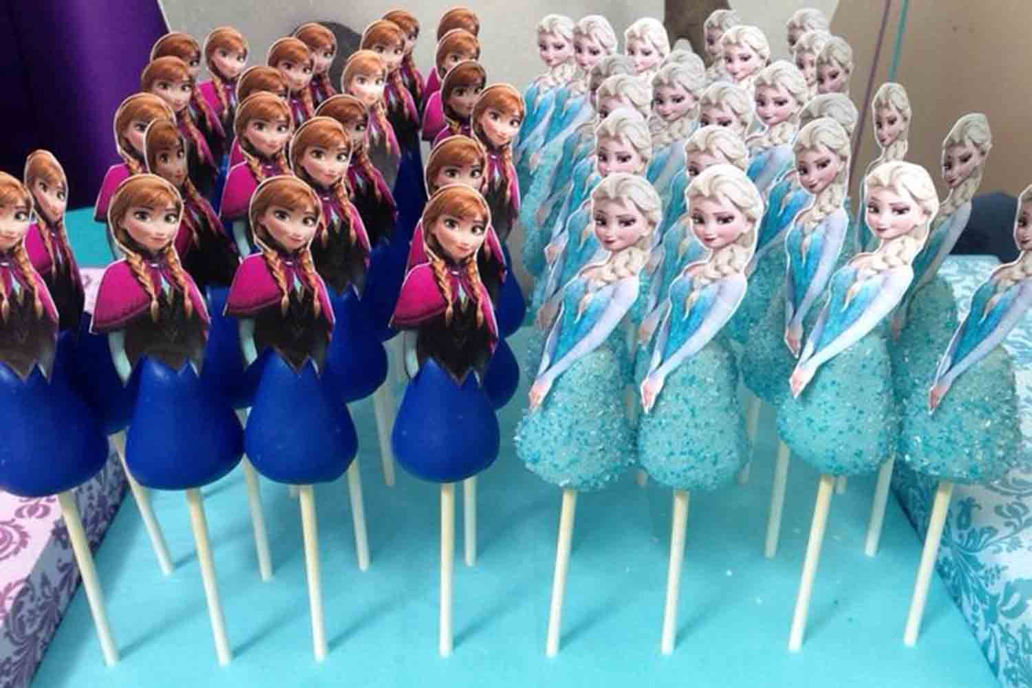 disney frozen princess cake pops
