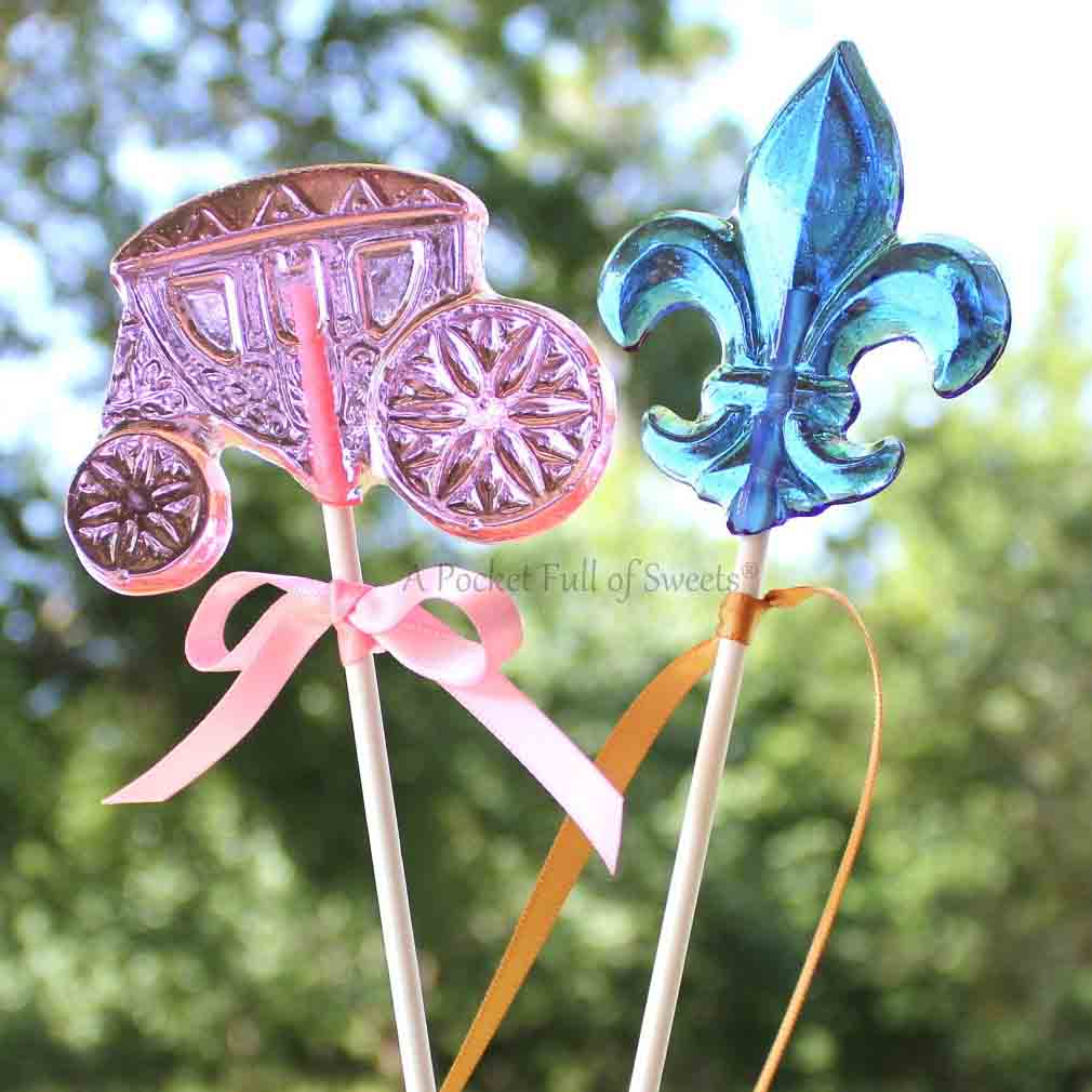 princess candy lollipops