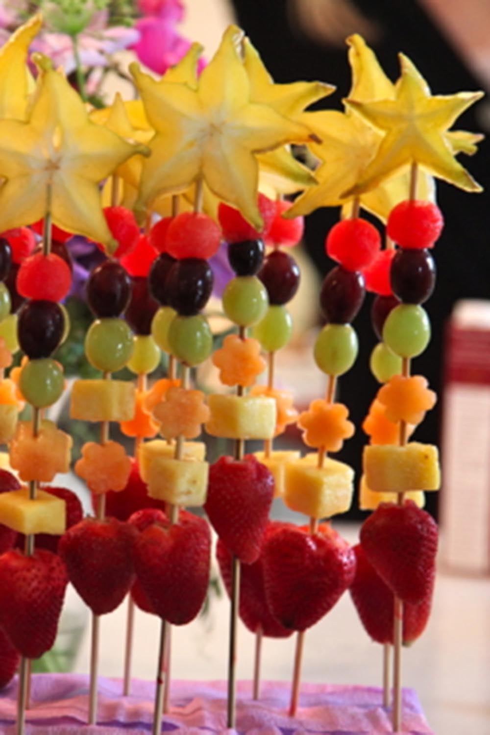 fruit princess wands