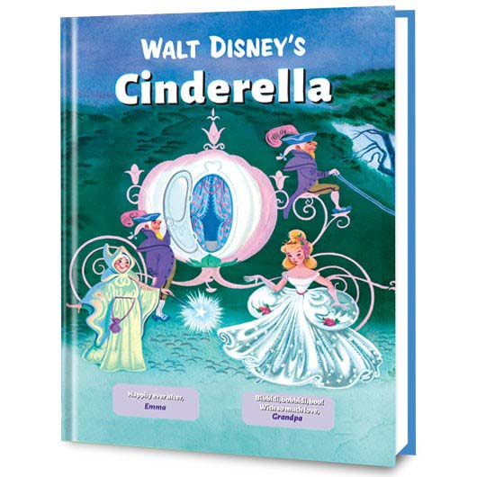 personalized princess book cinderlla