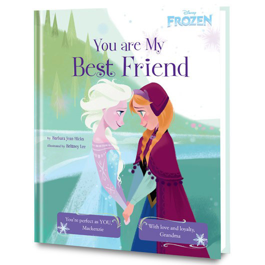 personalized princess book disney frozen