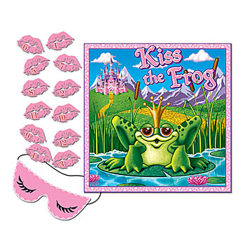kiss the frog game