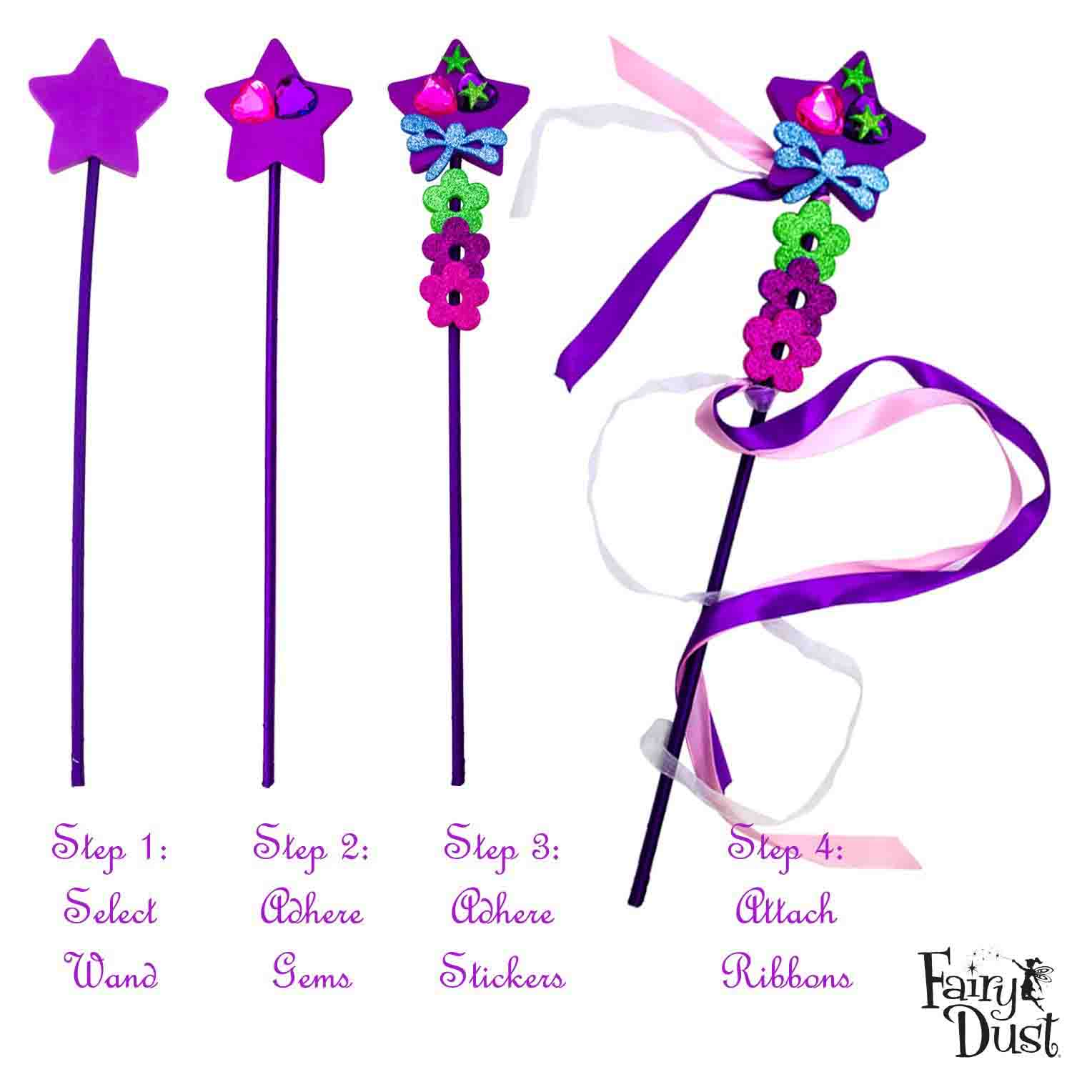decorate your own princess wands