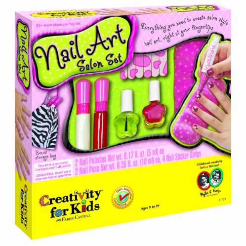 nail art salon set