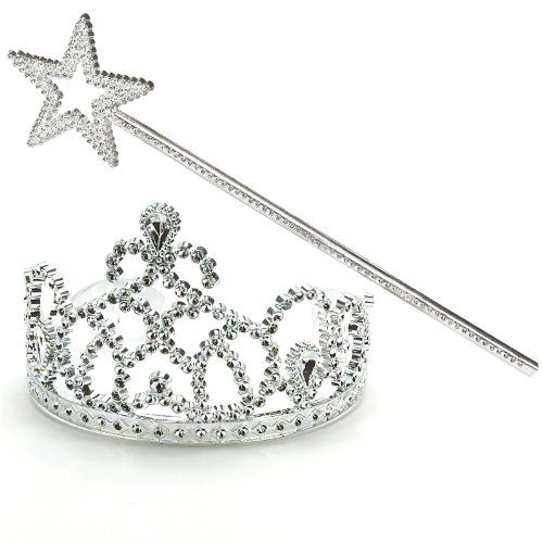 princess tiara and wand