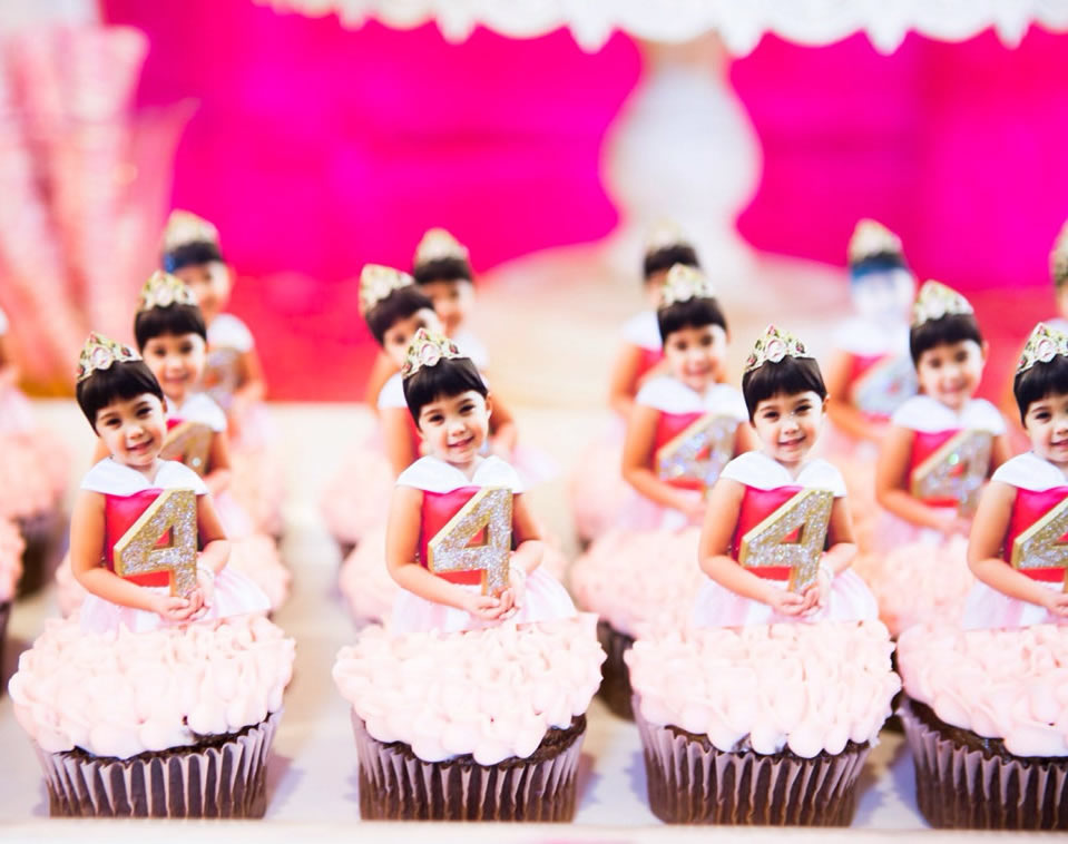 personalized princess cake toppers