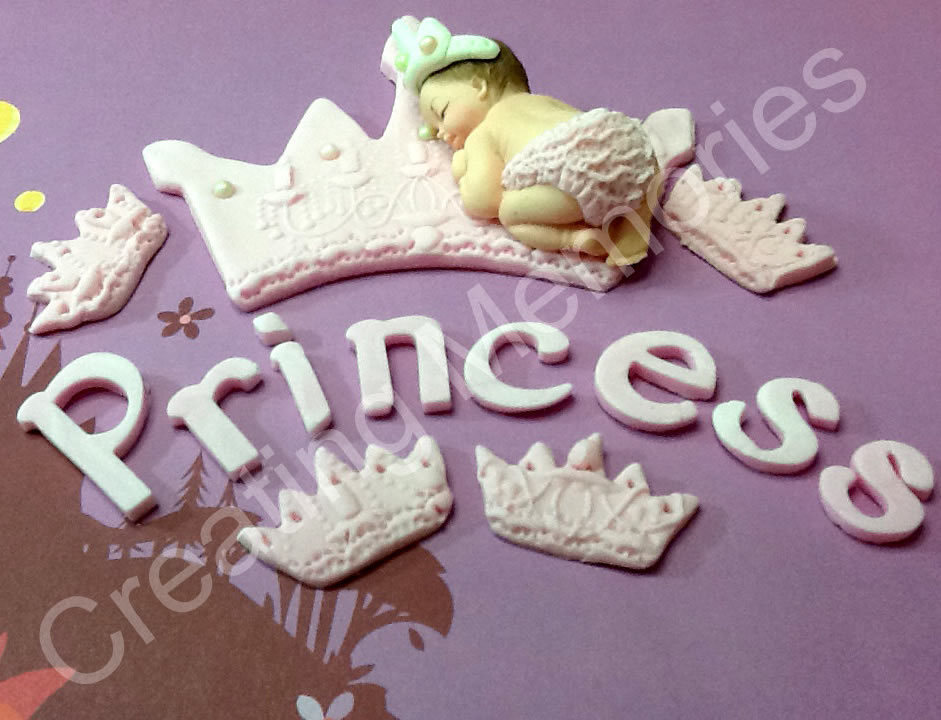 princess edible cake topper