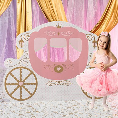 princess carriage standee