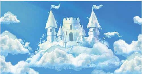 fairytale castle background