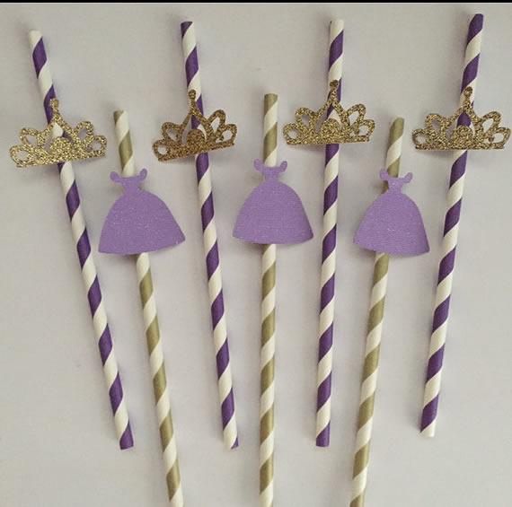 princess straws