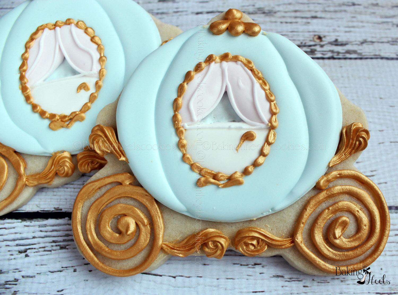 pumpkin carriage cookies