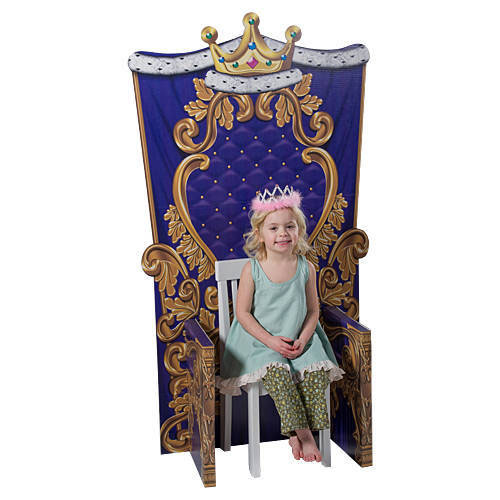 princess throne chair cover