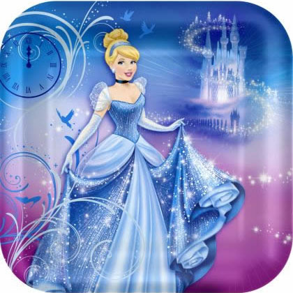 disney princess party plates