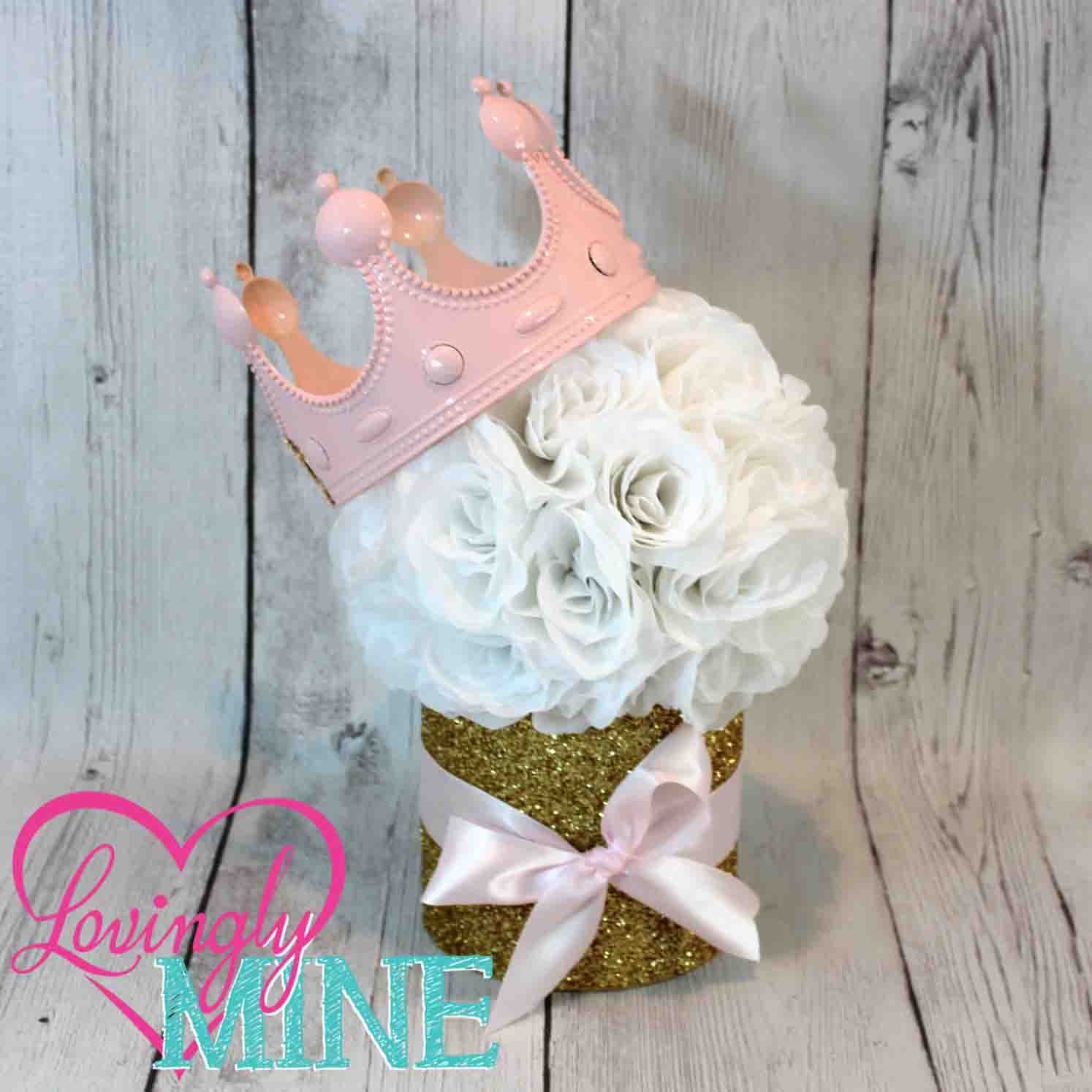 princess floral centerpiece