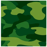 camouflage napkins