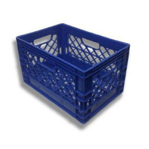 plastic milk crates