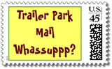 trailer trash postage stamps