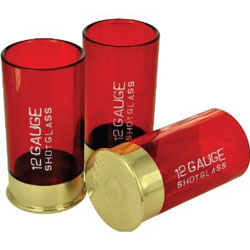 shot gun shell glasses