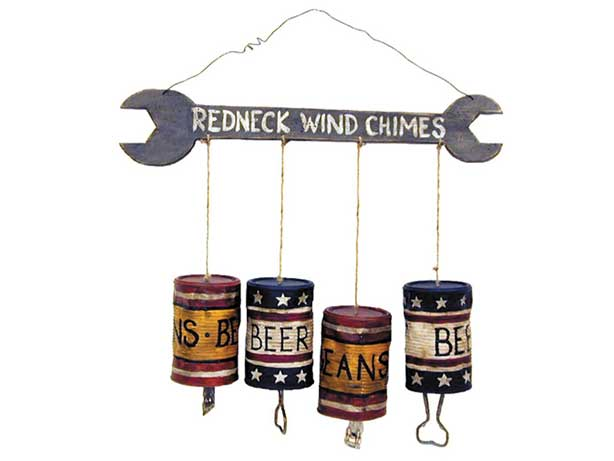 redneck party decorations wind chimes