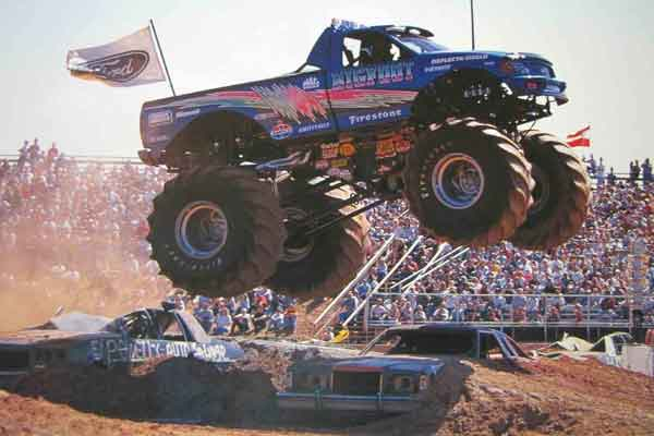 redneck party decorations monster truck Posters