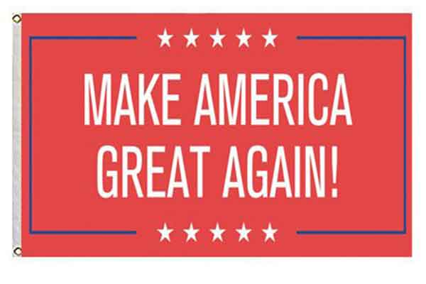 redneck party decorations make america great again flag
